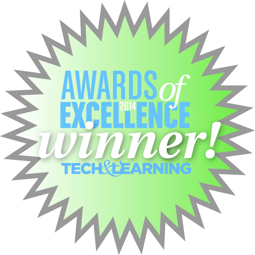 Award of Excellence Winner Tech & Learning